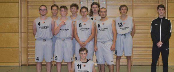 U18-Piranhas Teamfoto 17-18