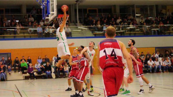 Nicholas Freer Dunk gegen Baskets Vilsbiburg 20171015