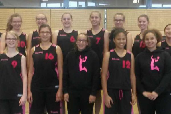 U16-Piranhas Maedels Damen Teamfoto