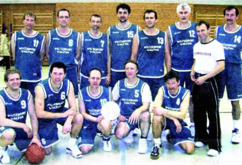 Ansbach Piranhas Ü35 Südostdeutsche Meister 2007