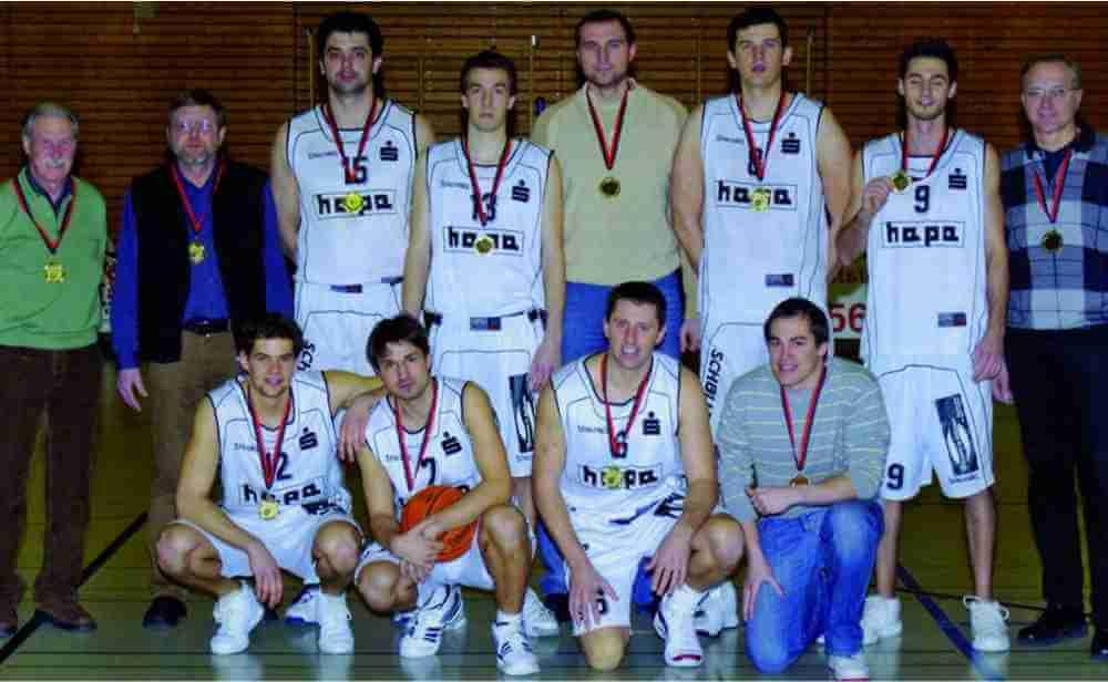 Ansbach Piranhas Meister der Regionalliga Herren 2006-2007