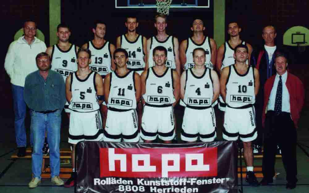 Ansbach Piranhas Regionalliga-Meister 1998-1999