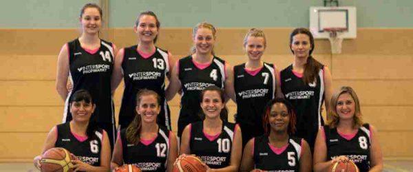 Damen-Mannschaft Ansbach Piranhas 2017-18