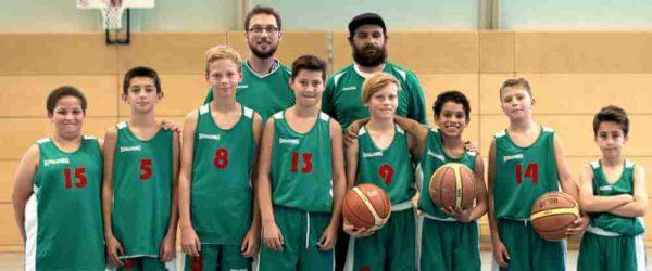 U14-Mannschaft Ansbach Piranhas 2017-18