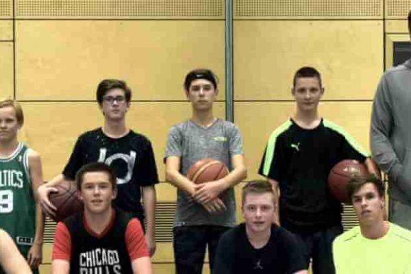 U16-Mannschaft Ansbach Piranhas 2017-18