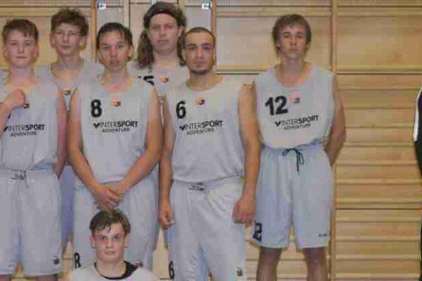 U18-Mannschaft Ansbach Piranhas 2017-18