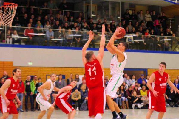 Nicholas Freer verliert mit Ansbach gegen Treuchtlingen 20180127
