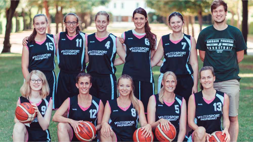 Mannschaftsfoto Damen-Mannschaft 2019-20
