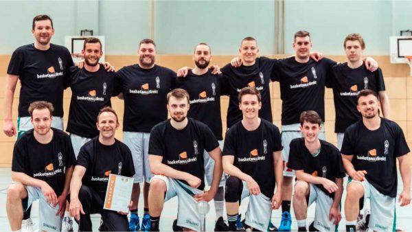 Mannschaftsfoto 2. Herren-Mannschaft Ansbach Piranhas 2019-20