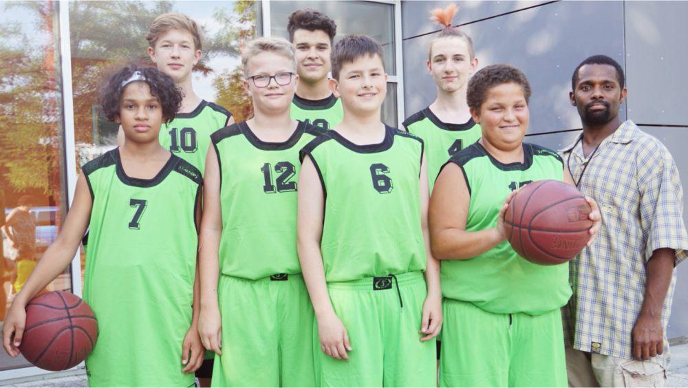 Mannschaftsfoto U16-Mannschaft Ansbach Piranhas 2019-20