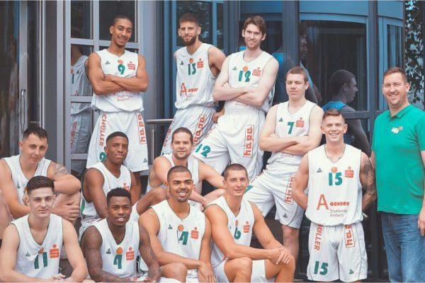 hapa Ansbach Basketball-Mannschaftsfoto 2019-20